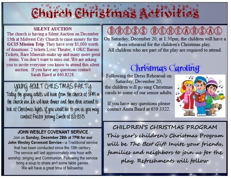 Church Program Template Word Free Download