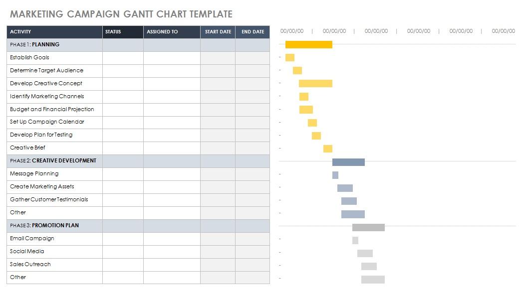 gantt chart template word doc