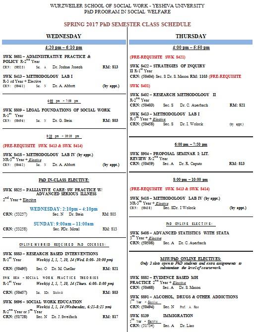 free online college schedule maker