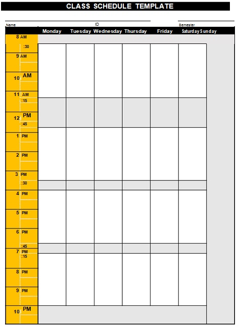 college timetable maker