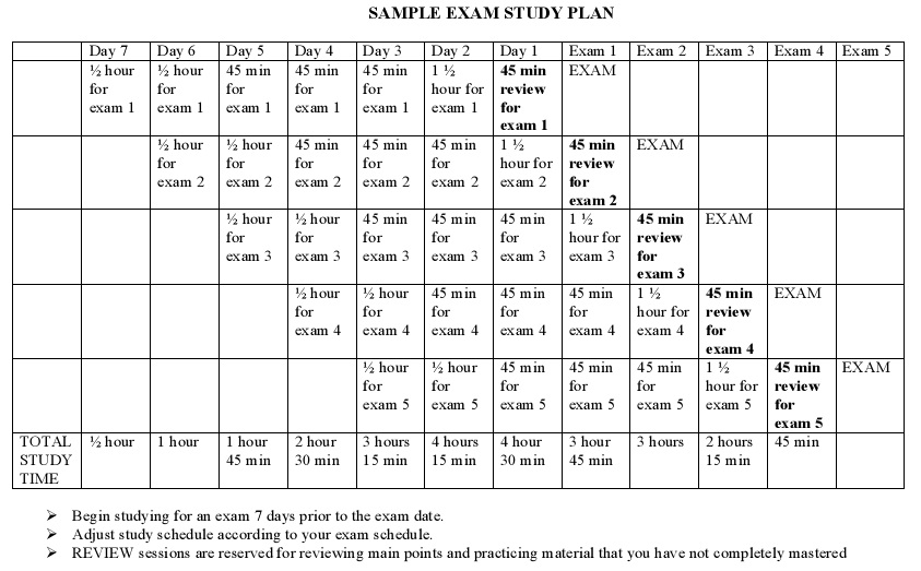 topper student timetable