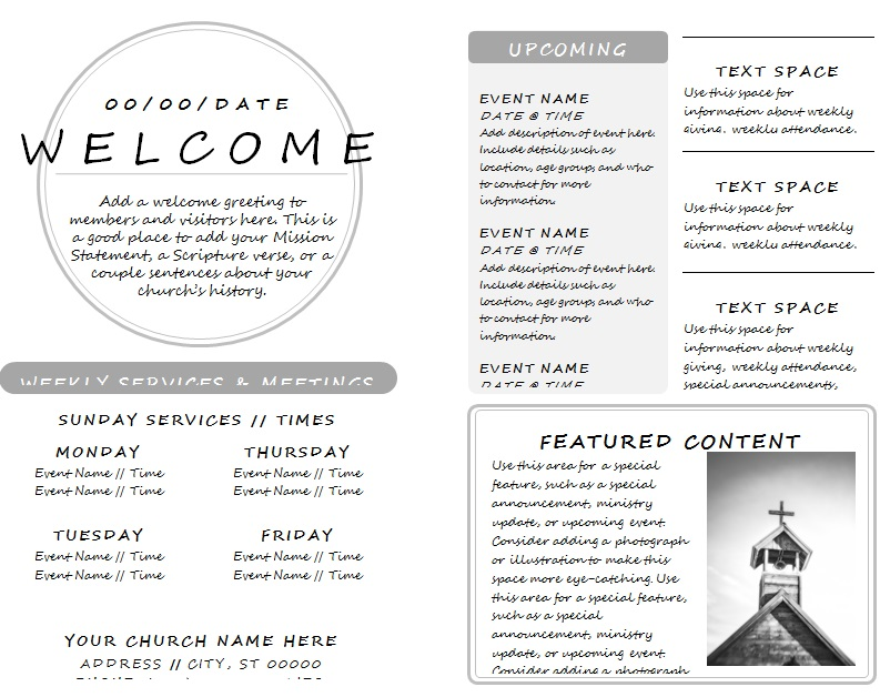 lds church program template