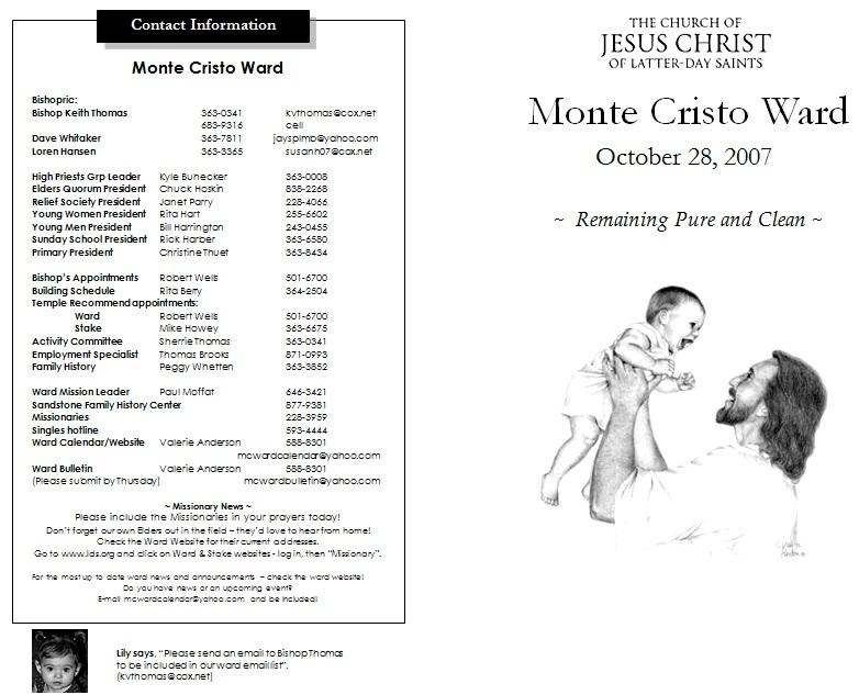 catholic funeral mass program template