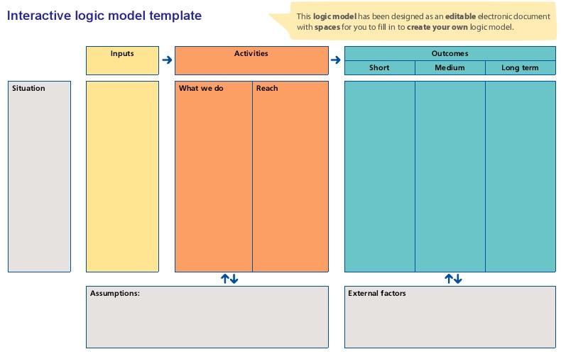 Logic Model Template 23