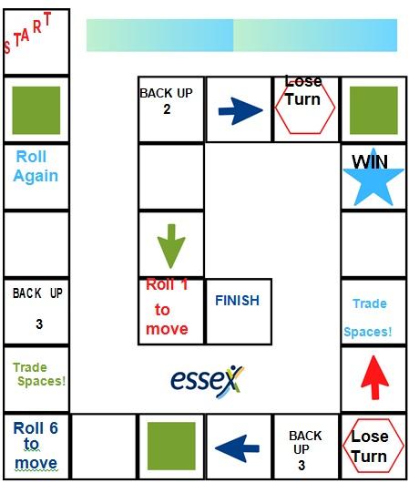 DIY board game template