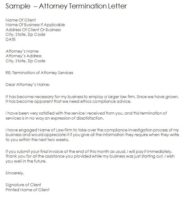 attorney termination letter 2