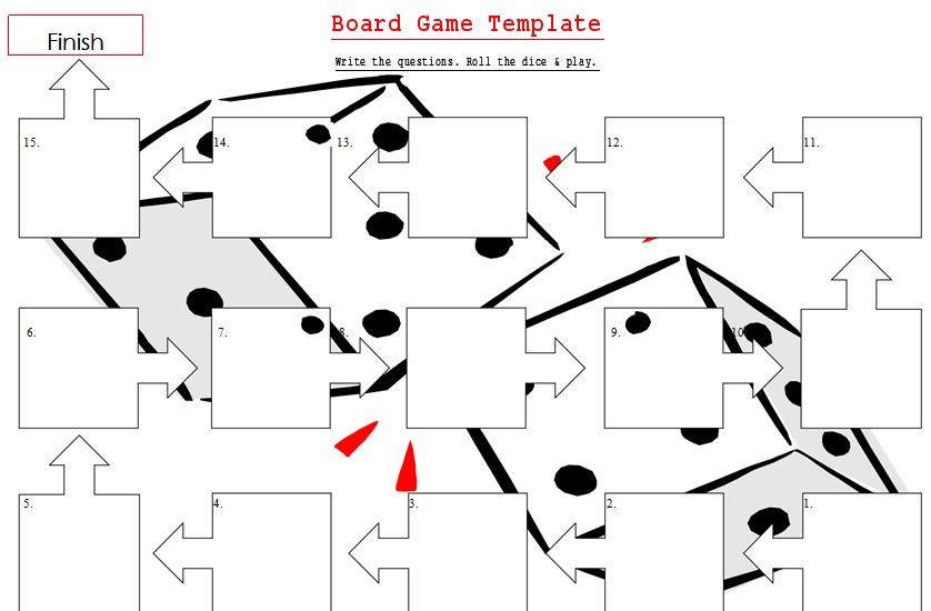 board game template 11