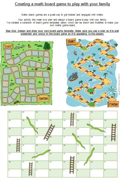 board game template 17