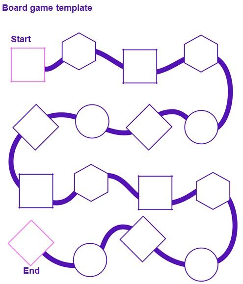 board game template 3
