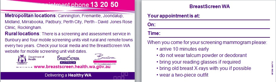 appointment cards template 3