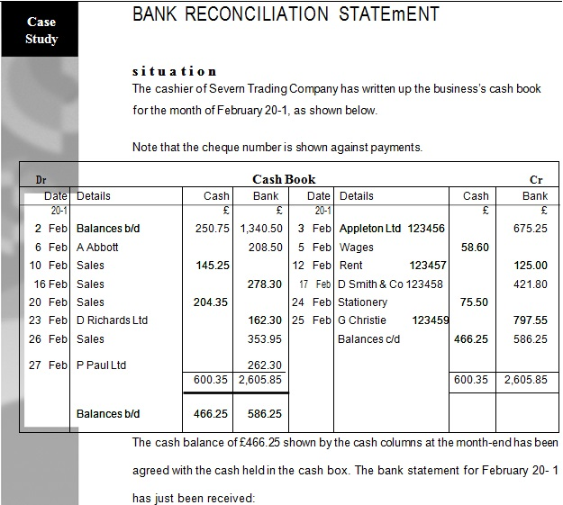 bank statement template 6