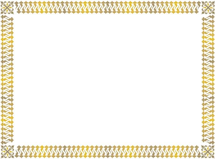 certificate border 11