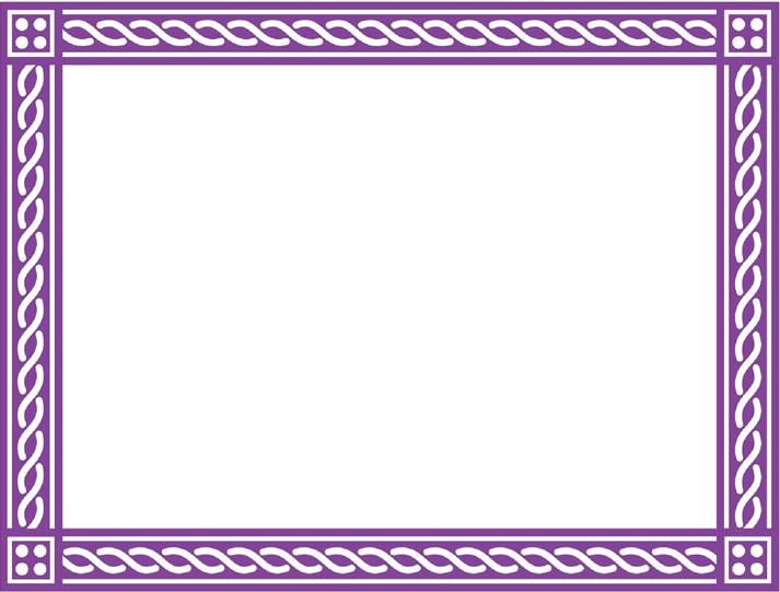 certificate border 25