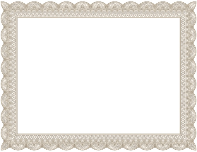certificate border 26