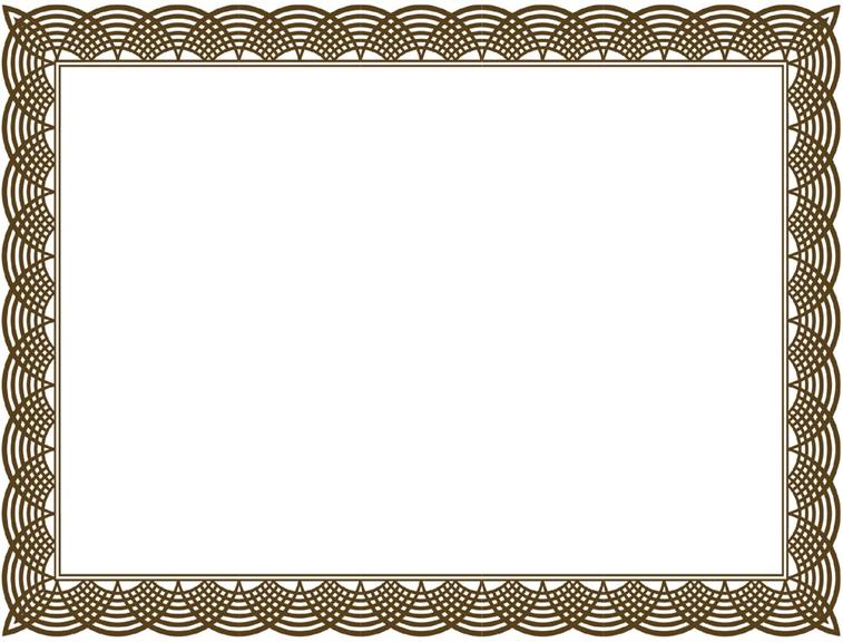 certificate border 27