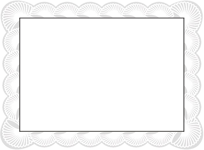certificate border 30