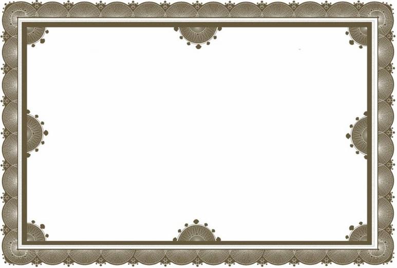 certificate border 9