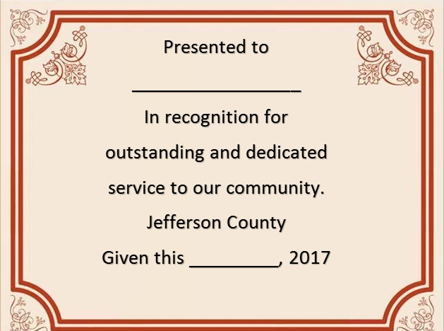 certificate of recognition 18