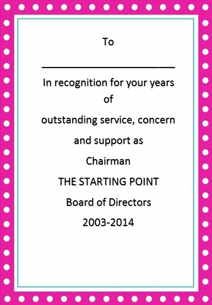 certificate of recognition 25
