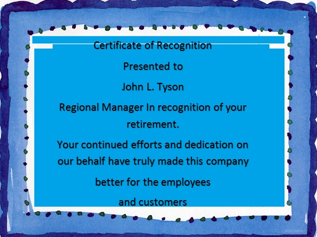 certificate of recognition 26