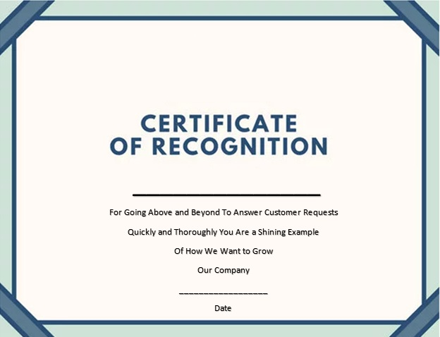 certificate of recognition 4