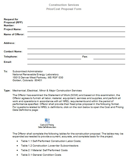 construction proposal template 15