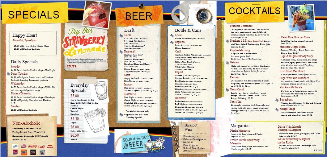drink menu template 18