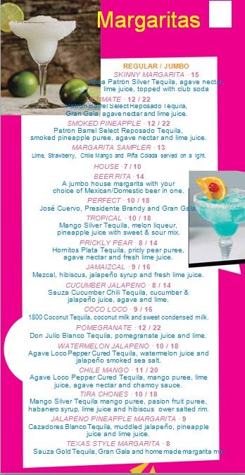 drink menu template 3