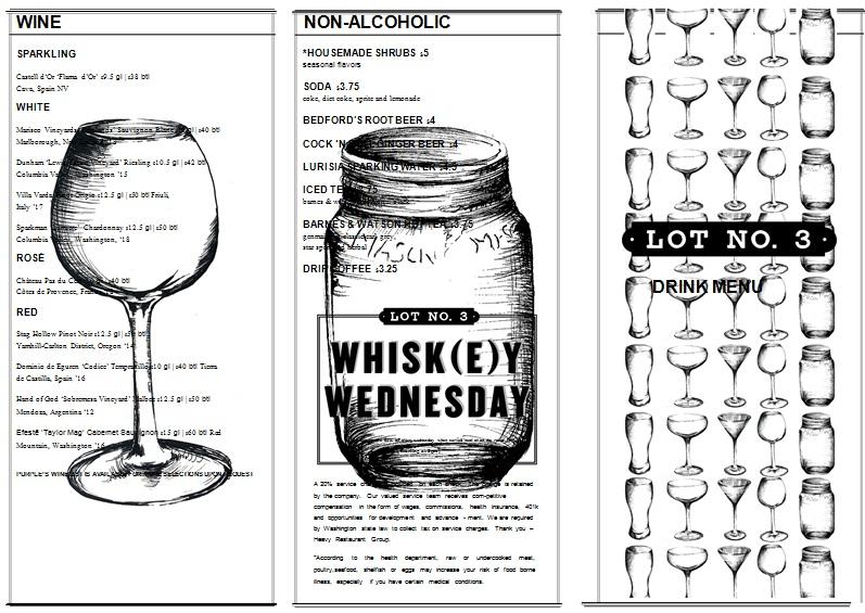 drink menu template 6