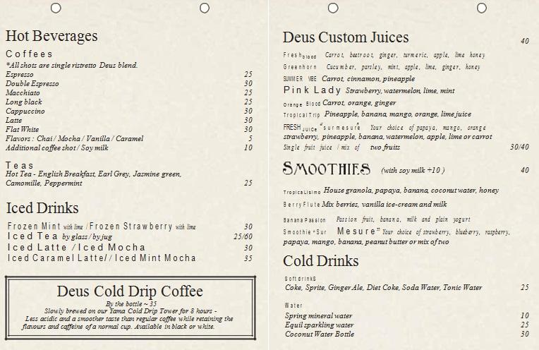 drink menu template 7