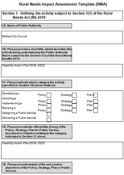 needs assessment template 22
