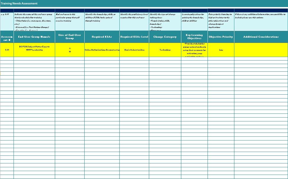 needs assessment template 4