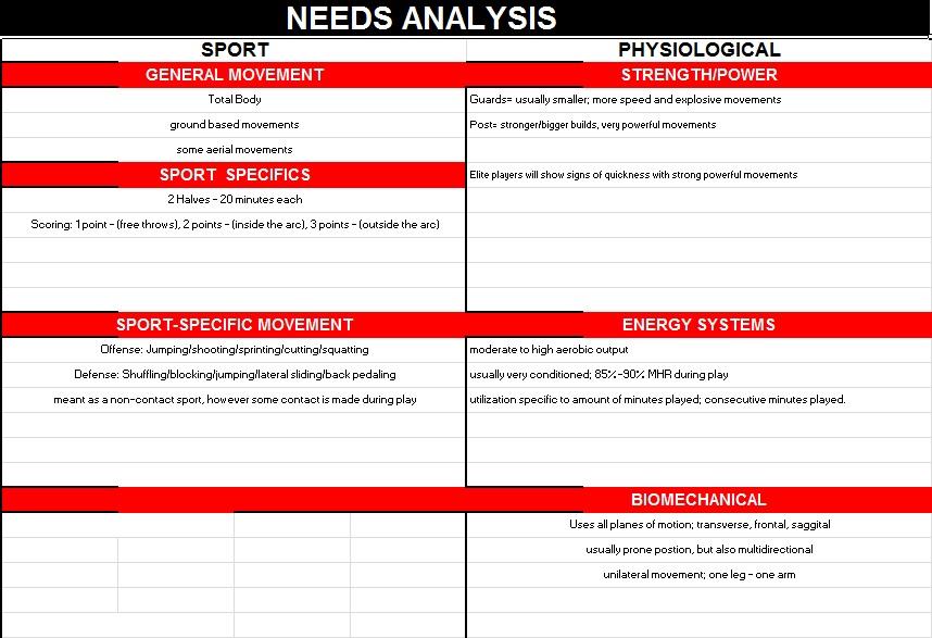 needs assessment template 5
