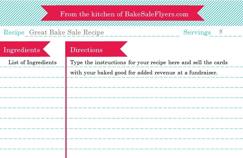 recipe book template 1