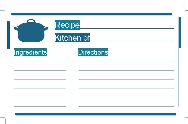 recipe book template 11