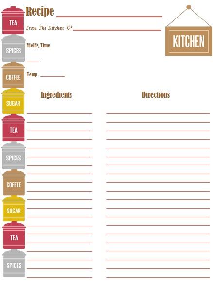recipe book template 16