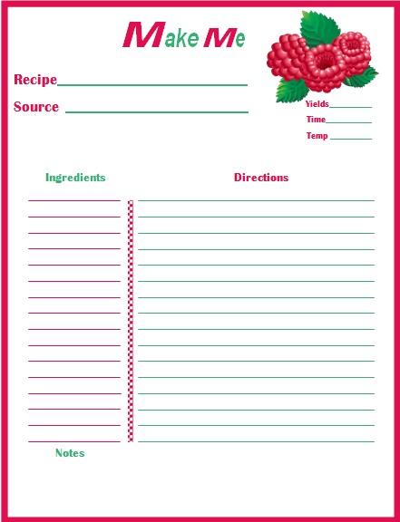 recipe book template 17