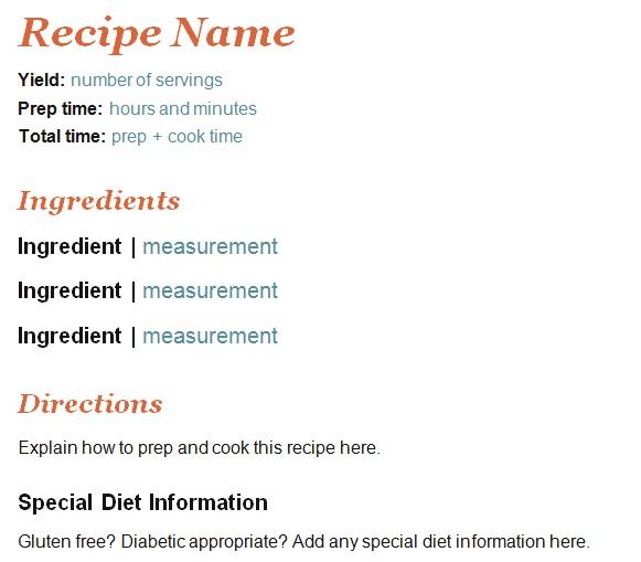 recipe book template 25