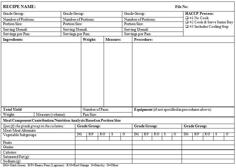 recipe book template 7
