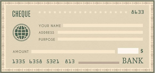 blank check template 11