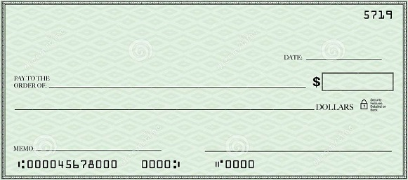 blank check template 12