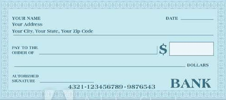 blank check template 13