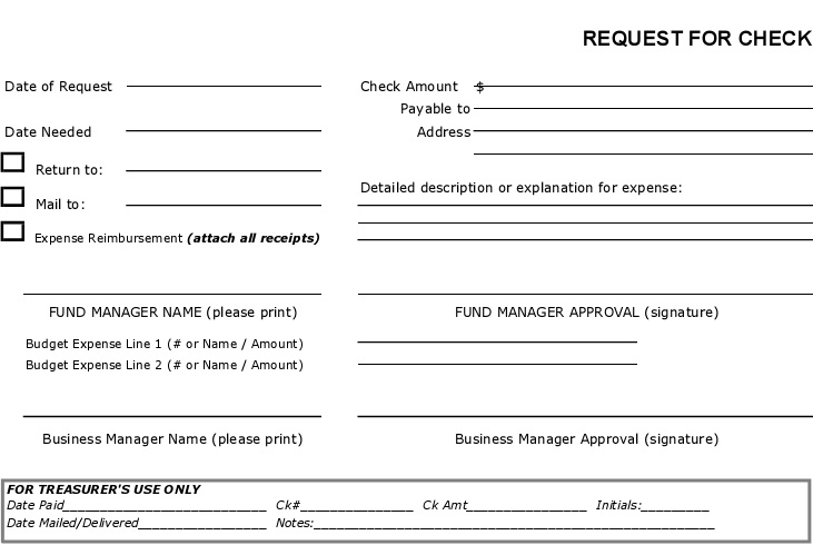 blank check template 19