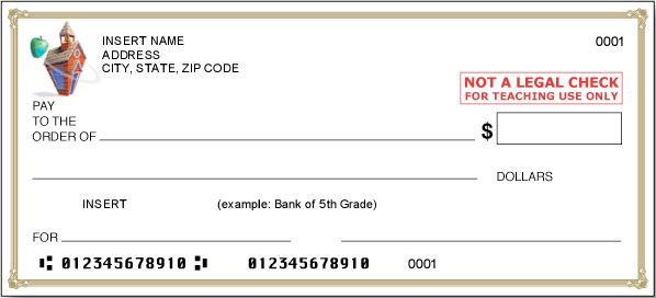 blank check template 21