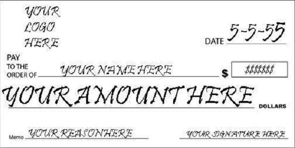 blank check template 24