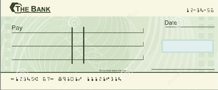 blank check template 25