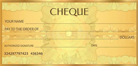 blank check template 27