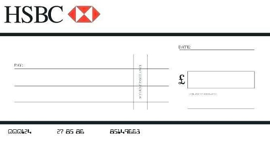 blank check template 9