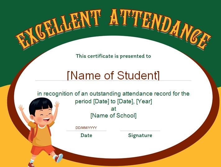 certificates of attendance template 30