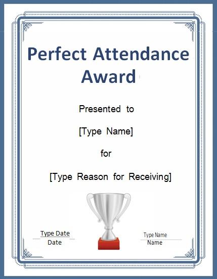 certificates of attendance template 9